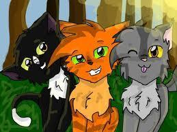 Who are Firepaw's friends?