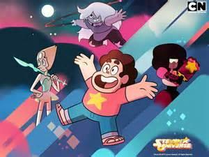 who is half-human in Steven Universe?