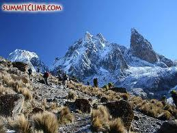What' the second highest mountain in Africa?