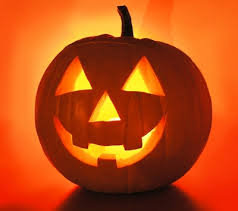 Halloween pumpkins were originally made of:
