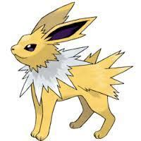 "You jump back and shriek, you then hear a laugh from a corner. ""Look the * is awake, wonder why so surprised he/she is."" ""*?"" You say out aloud. ""I'm a human!"" You look behind you and see a Jolteon, which looks surprisingly big from last time you saw one. ""Human?"" He laughs. ""I don't believe you, what's your name?"" You stammer your name and then say..."