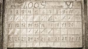 Who created the first calendar?