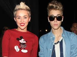 What do you think of Justin Beiber and Miley Cyrus?