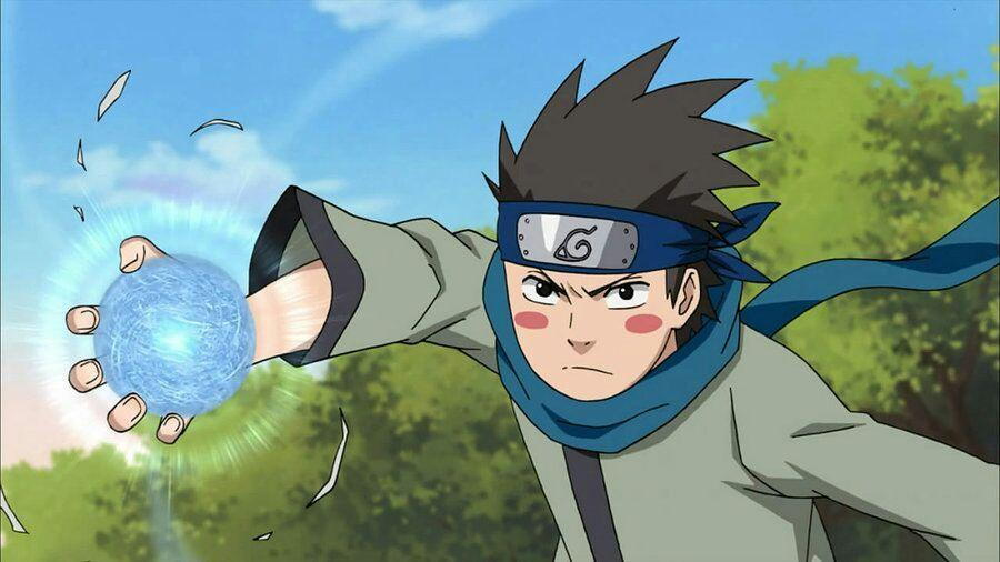 Who taught Konohamaru the Rasengan?