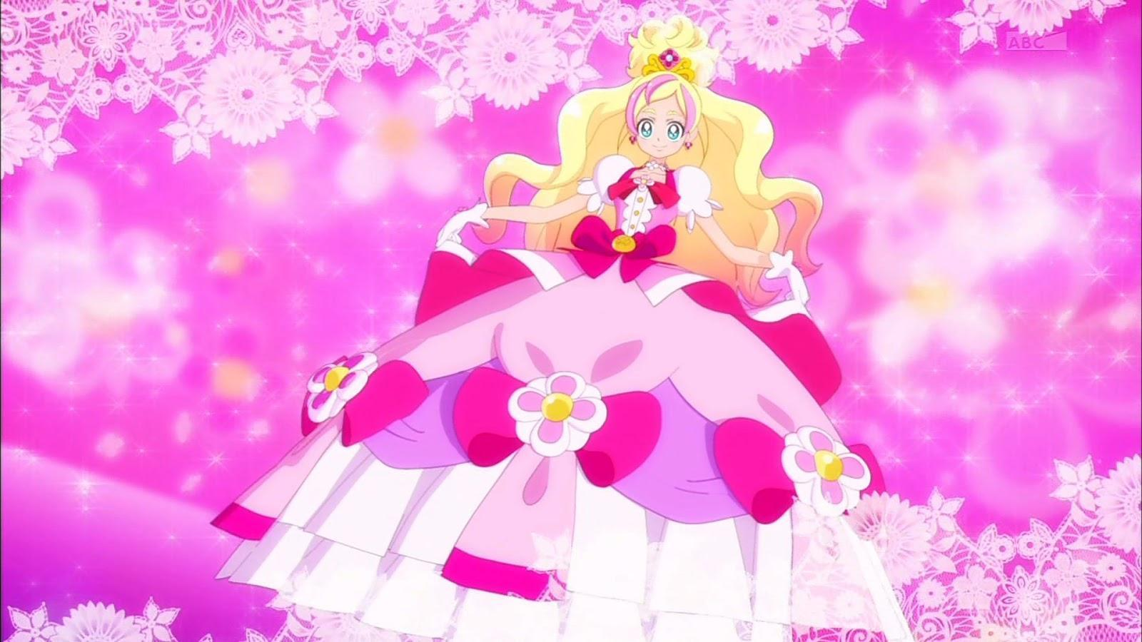 What princess is Cure Flora?