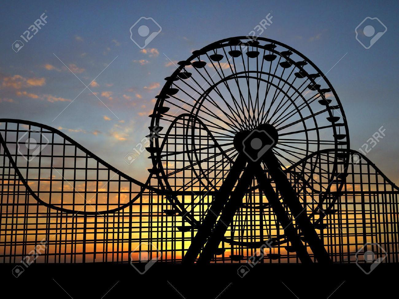 Crazy, loopy roller coaster or quiet, simple Ferris wheel?
