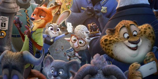 Zootopia includes nods to all of these films EXCEPT:
