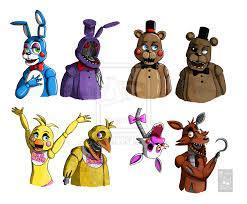FnaF is where have must best animatronic?