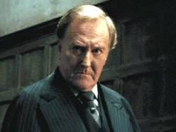Which of the following characters was the Minister of Magic who replaced Cornelius Fudge in Harry Potter and the Half Blood Prince?