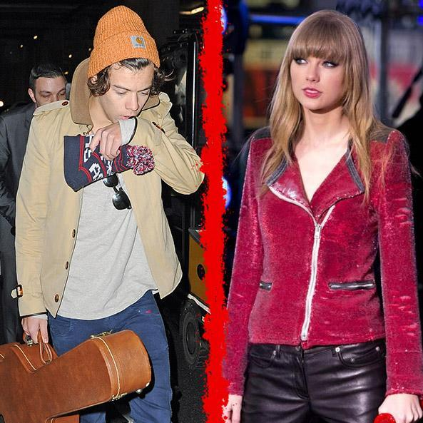 What year did Haylor=Harry and Taylor broke up