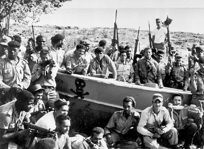 "In April of 1961, 1,500 U.S.-trained Cuban exiles called ""Brigade 2506,"" returned to Cuba in the hope of deposing Fidel Castro. This botched invasion was commonly known as:"
