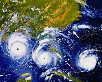 How are cyclones ranked?