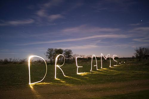 What are your dreams mostly about?