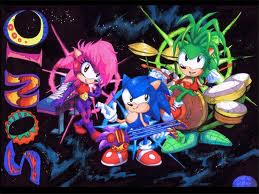 Leat: yay! You notice that there are other Freedom Fighters around. You: Who are they? Cyrus: Just some friends.  One of them approached the Sonic Underground. Freedom Fighter(male): Well, it certainly isn't much of a party without music! *winks at Sonic* Sonic: on it! Manic, Sonia, and Sonic: *summon instruments and begin to play a song*