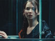 How did Katniss get into the Hunger Games?