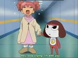In the episode where Keroro turned Natsumi into a dog, why was she at one point happy to be a dog?