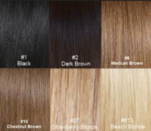 Hair color? Pick the one that's the closest to yours!