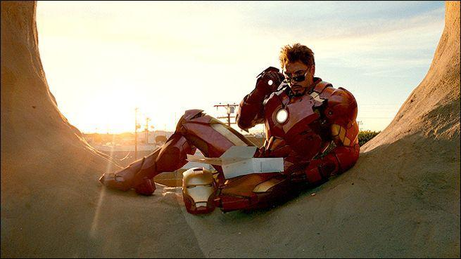 "Which Supervillian does Iron Man refer to as ""Reindeer Games""?"