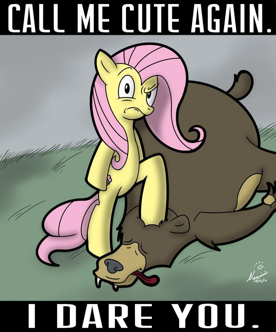 Is Fluttershy cute in this picture?