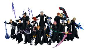 Who are the first four members in Organization XIII?