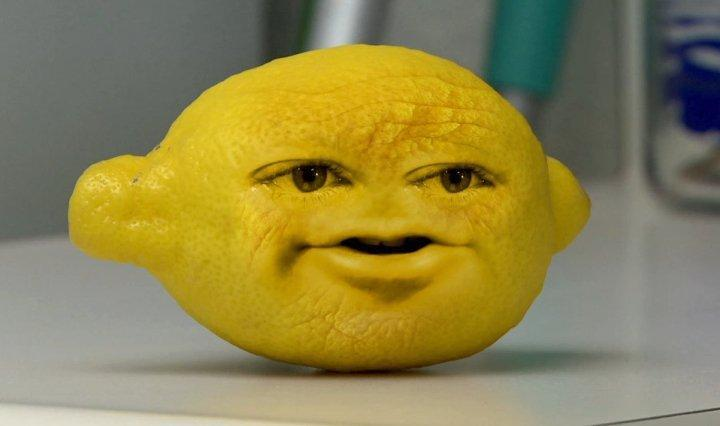 which fruit on annoying orange sleeps alot