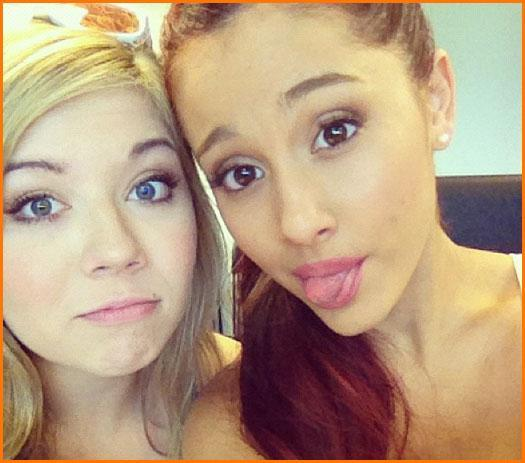 What is Ariana's new show with Jennette Mccurdy called