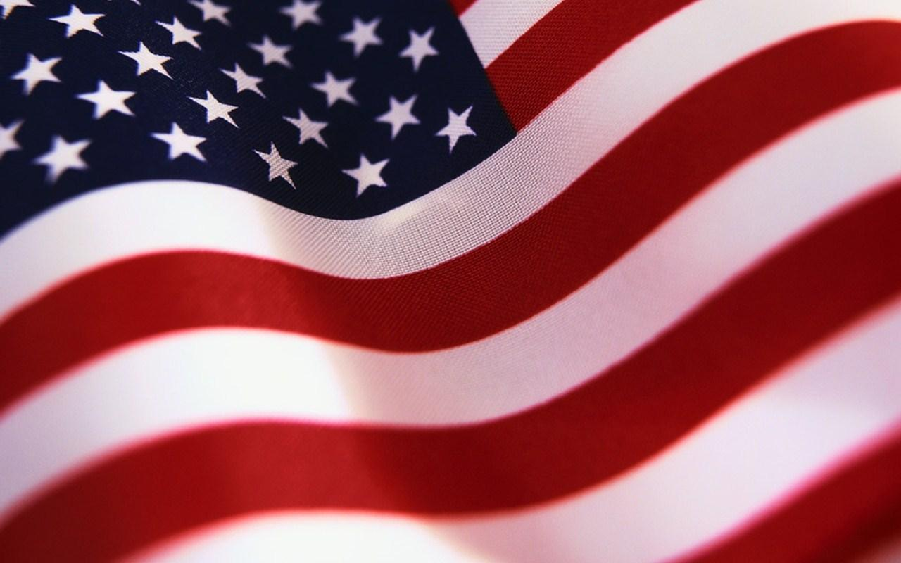 How many stars on on the American flag?