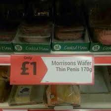Morrisons have some weird stuff...