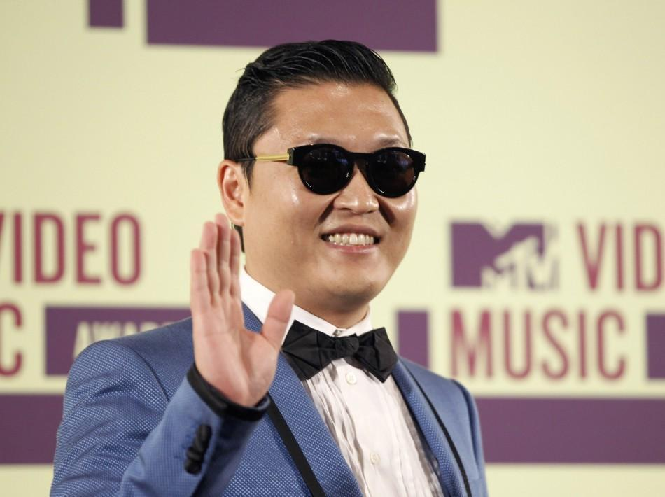 psy sings the song