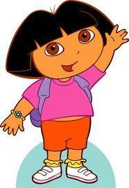 Your little sister comes into the living room before you do and turns on Dora. What do you do?