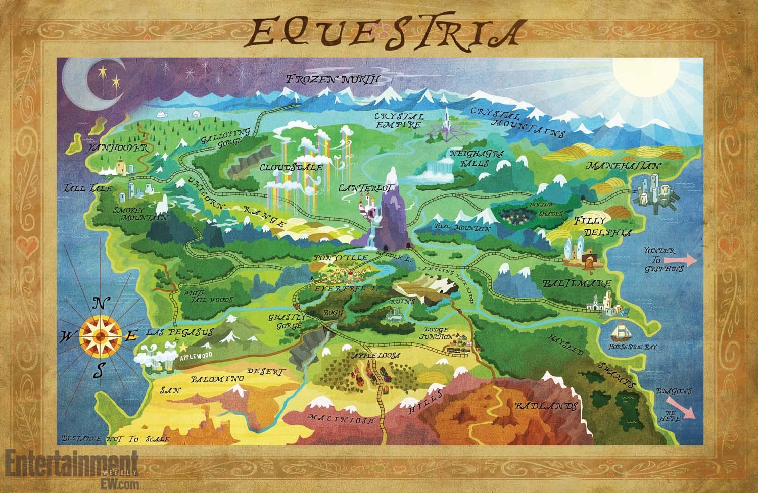Where did Twilight live before Ponyville?