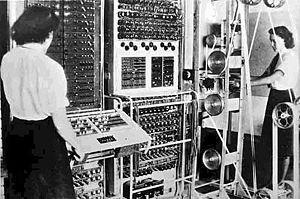 What computer was the first electronic digital single purpose computer?