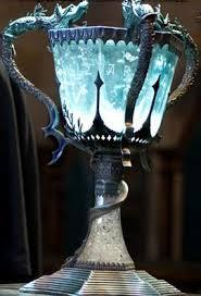 In the Goblet of Fire, who gets to the Triwizard Cup?