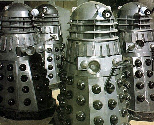You come across some Daleks. How do you deal with them?