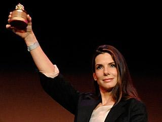 In which movies did Sandra Bullock win a razzie award in 2010?