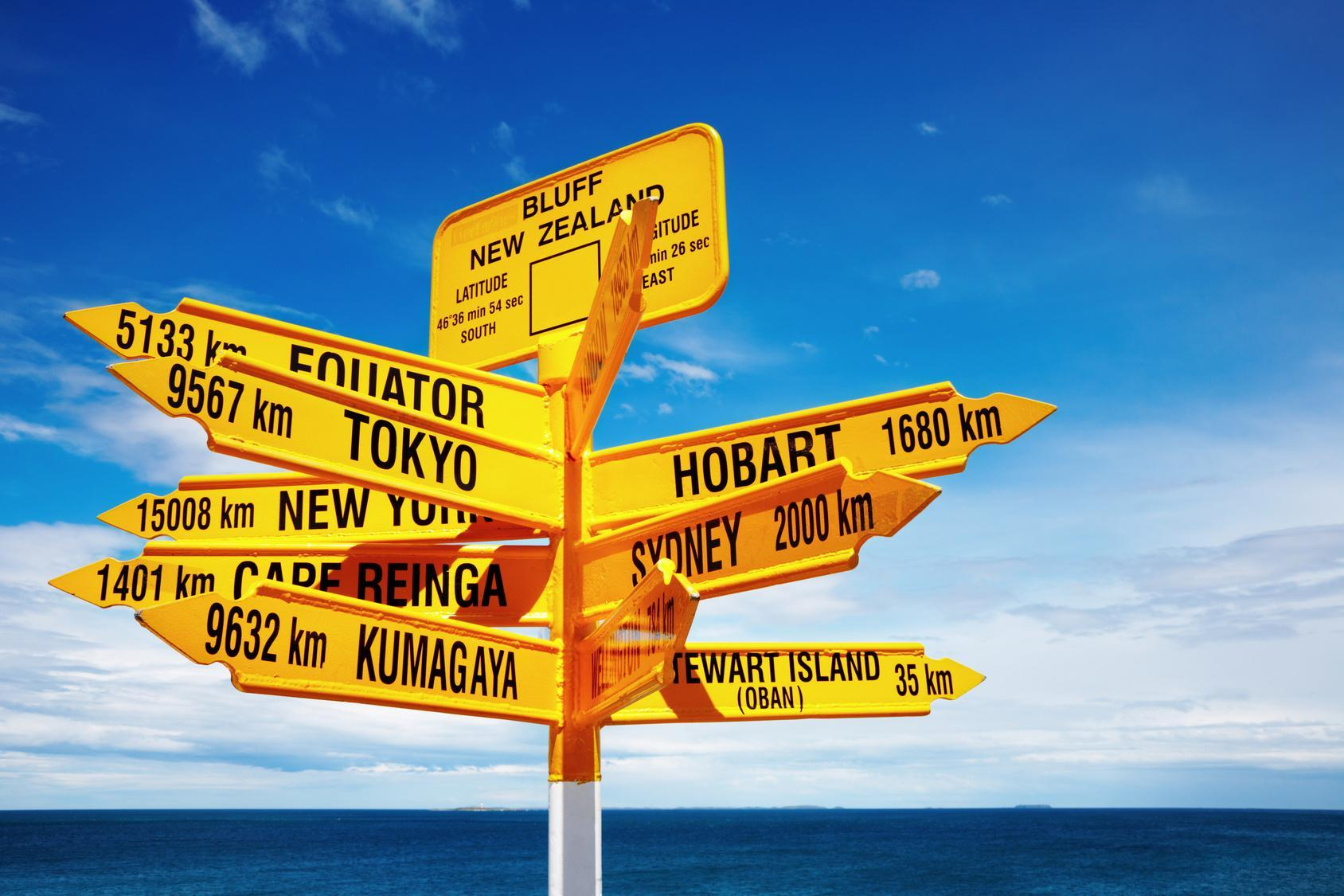 Which one of these destinations would you prefer to go to