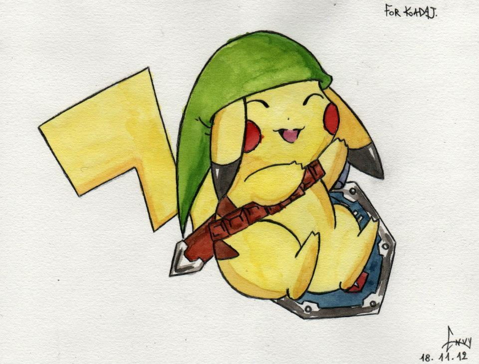 Now random question. do you like Pokemon or Zelda?