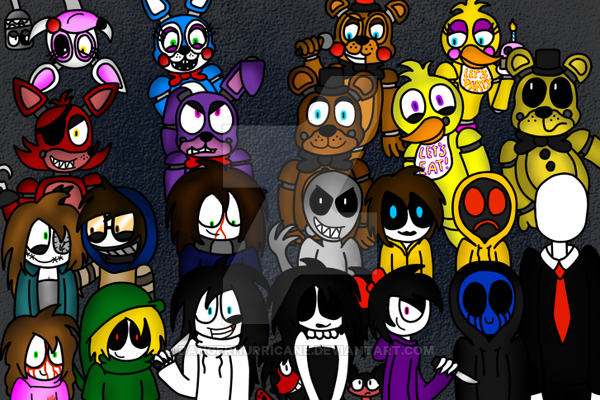 do you like the creepasta or fnaf?