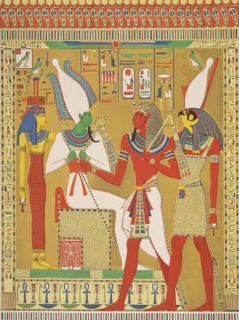 who is the god of the Nile river?