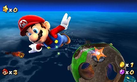 Choose all the galaxies that are NOT in Mario Galaxy.