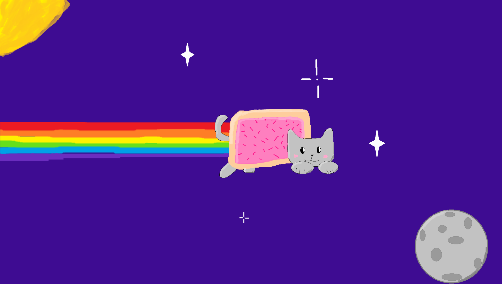 Nyan cat or Wolves?