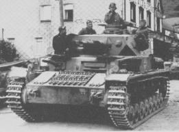 What were the names of the German tanks at D-DAY?