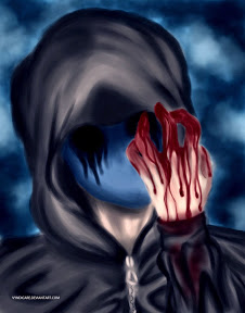 Hello there quiz taker I am Death wish and I am here with my friend Dark spirit and the rest of the creepypastas. Ok so who wants to be the quiz takers friend *everyone puts their hand up* ok um Eyeless Jack you can ask a question.  E.J: Would you ever eat a Kidney? Jeff: Really E.J always asking the same question over and over *facepalms*