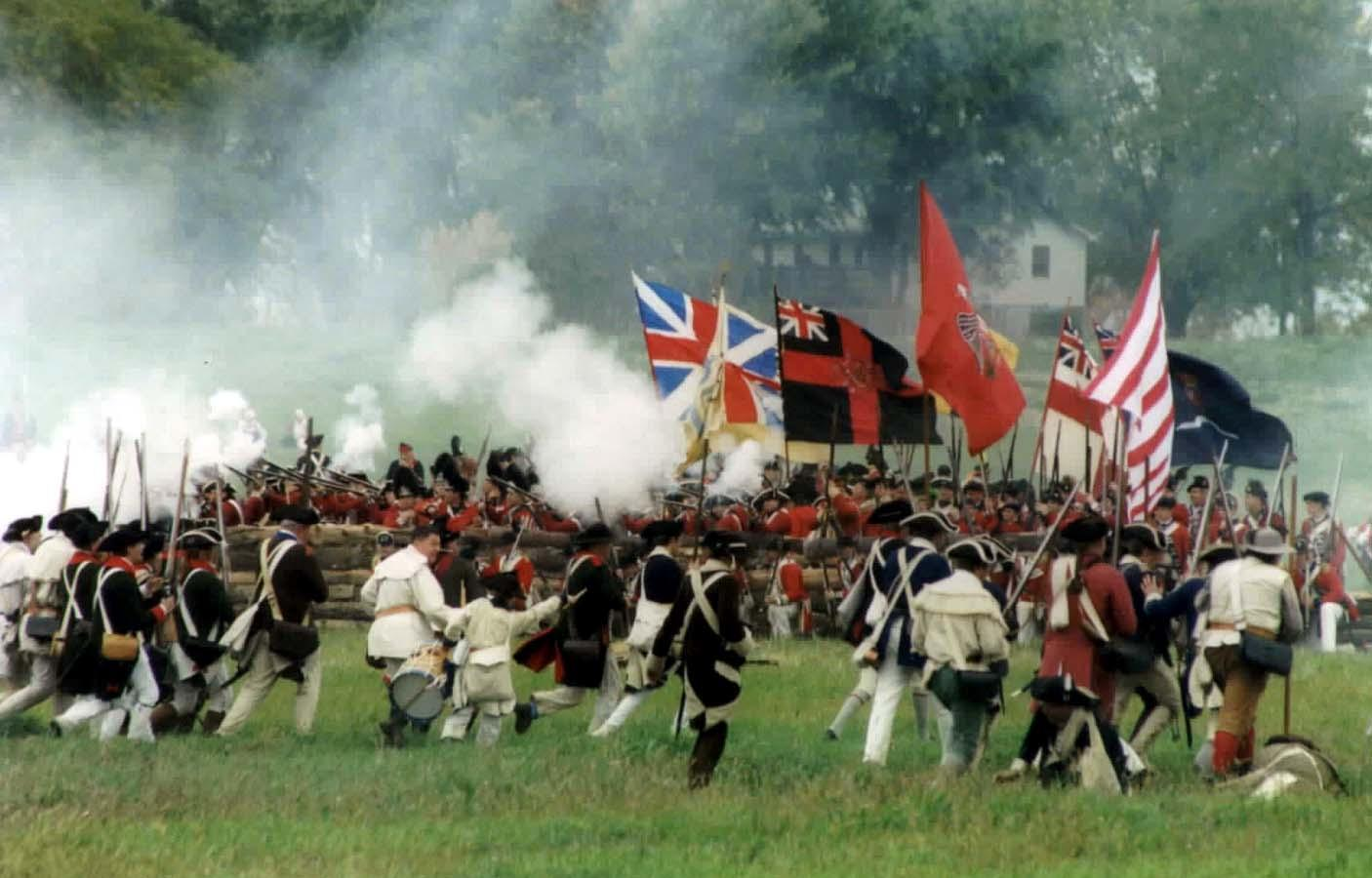 What were the two most southern battles fought during the Revolutionary War?