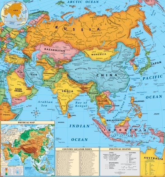 The China and India together represents around __ of Earth's population by 2012