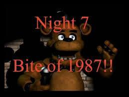 Who may have caused the bite of 87 (if not Foxy?)?