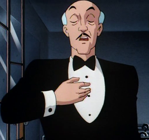 What is the name of Batman's butler?