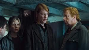 What was the name of the actor who played the member of the Weasley family who got married to Fleur Delecour in Harry Potter and the Deathly Hallows part1?