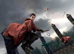 How many feet did Harry fall from the sky in Harry Potter and the Prisoner of Azkaban when he was attacked by a Dementor during his Quidditch match against Hufflepuff?