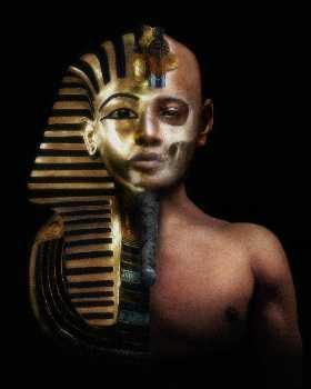 What was TUT's original name before taking the throne?